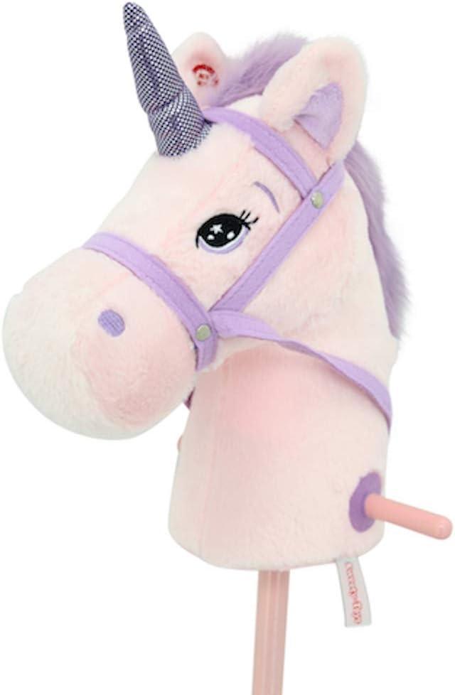 Sweety Toys- Caballo de Enchufe, Color Rosa. (10547)