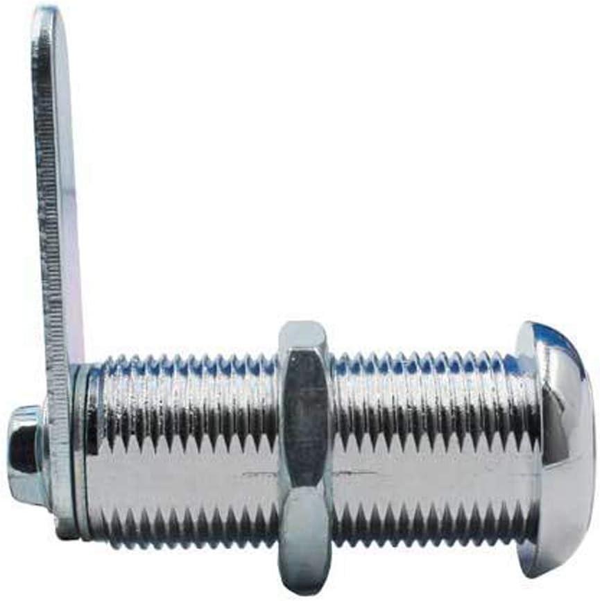 19 mm x 40 mm con 2 llaves YUEWO Cerradura de seguridad para gabinete