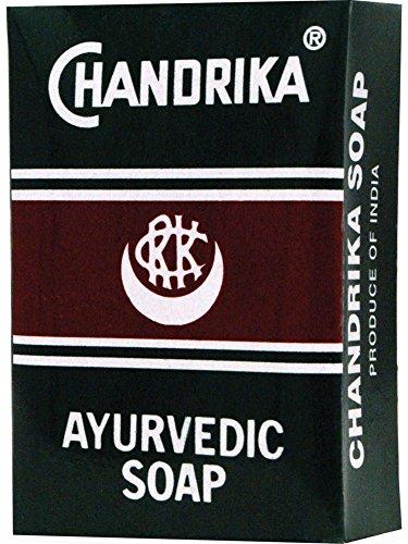 Chandrika Ayurvedic Soap 2.64oz Pack of 18