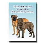 Bullmastiff Can't Have Just One Fridge Magnet