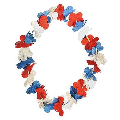 Mini Lei (Patriotic Silk Flower Leis - 38