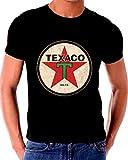 Old Tin Sign T Shirt TEXACO Gas Oil