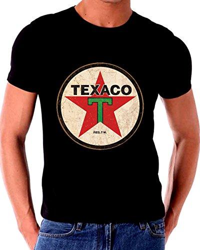 Old Tin Sign T Shirt TEXACO Gas Oil (Gas Oil Sinclair)