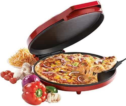 Betty Crocker BC-2958CR Pizza Maker, 1440 Watts, Red (Certified Refurbished)