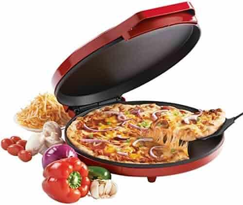 Betty Crocker BC-2958CR Pizza Maker, 1440 Watts, Red (Certified Refurbished)