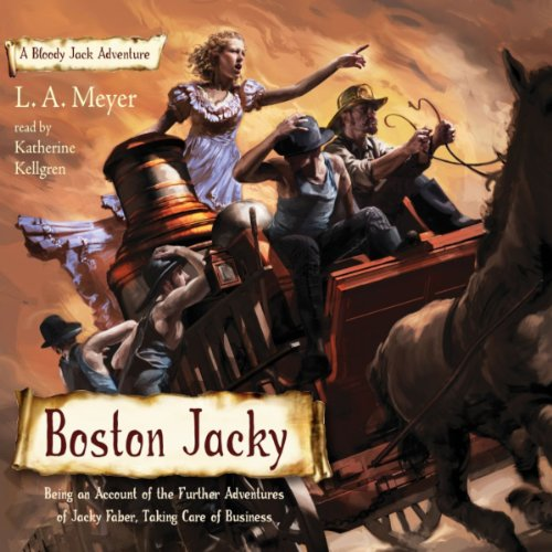 Boston Jacky: Bloody Jack, Book 11 by Listen & Live Audio, Inc.