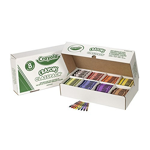 CRAYOLA LLC CRAYOLA CRAYONS CLASSPACKS 8 COLOR (Set of 3)