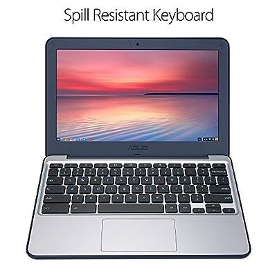 ASUS Rugged Chromebook 11.6' Intel Celeron N3060 Processor 2GB DDR3L RAM 16GB Flash Storage