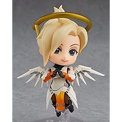 Good Smile Overwatch: Mercy (Classic Skin Version) Nendoroid Action Figure: Toys & Games