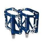 Pedali-da-Ciclismo-Flat-MTB-Bmx-in-Alluminio-Ultra-leggeri-e-Antiscivolo-Mountain-Bike-Bicicletta-da-Strada-e-per-Bicicletta-Pieghevole–Extra-tool-per-Pedale–Pedali-Bici-Certificati