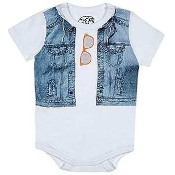 512d482b1 Body Jeans E Óculos, Tip Top, Branco, Tamanho E: Amazon.com.br: Bebês
