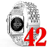 Apple-Watch-Band-NO1seller-Top-Premium-Solid-Stainless-Steel-Apple-Watch-Band-Strap-Wrist-Band-Unique-Polishing-Business-Replacement-for-Apple-Watch-Series-3-Series-2-Series-1