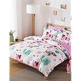 MEIREN Reactive Printing Duvet Cover Sets Fashion Comfortable Series Bedding Four Sets , queen
