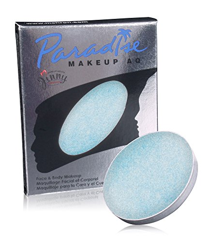Mehron Makeup Paradise Makeup AQ Refill (.25 oz) (BRILLANT BLEU BEBE/LIGHT BLUE)