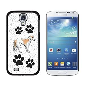 Borzoi of Excellence Snap-On Hard Protective Case for Samsung Galaxy S4 - Non-Retail Packaging - Black