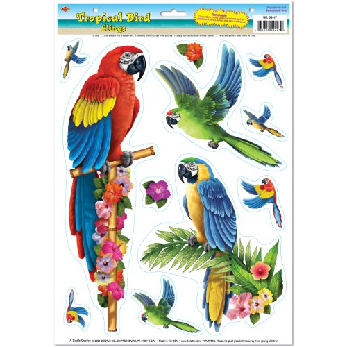 Tropical Clings Party Accessory count
