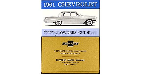 1957 Chevy Bel Air Convertible Owners Manual Set with Top Book and Envelope