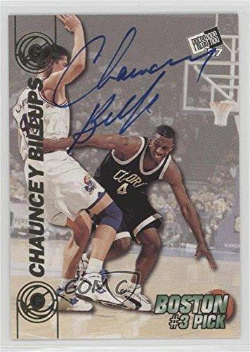 Chauncey Billups (Basketball Card) 1997 Press Pass Double Threat - Autographs #CHBI