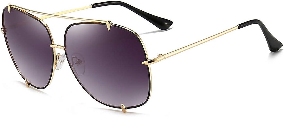 Dollger Oversized Aviator Sunglasses for Men Women Classic Designer Metal Frame UV400 Shades Retro Sun Glassesfor Women