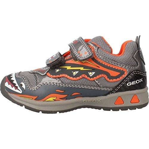 Zapatillas para ni�o, color gris , marca GEOX, modelo Zapatillas Para Ni�o GEOX B TEPPEI BOY D Con Luces Gris gris