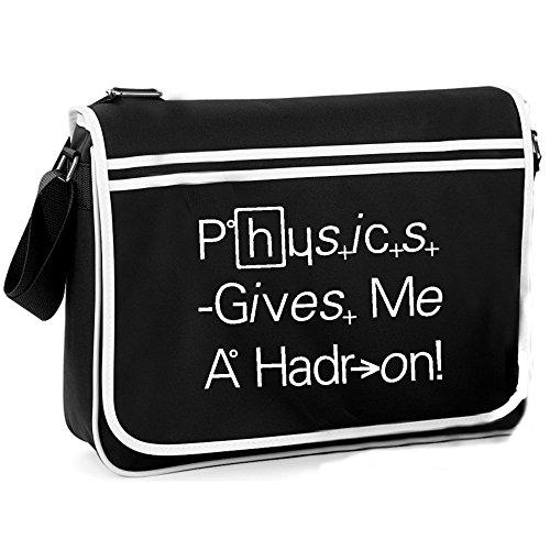 Physics Gives Me A Hadron - Retro Shoulder Bag