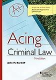 acing business - Acing Criminal Law (Acing Series)
