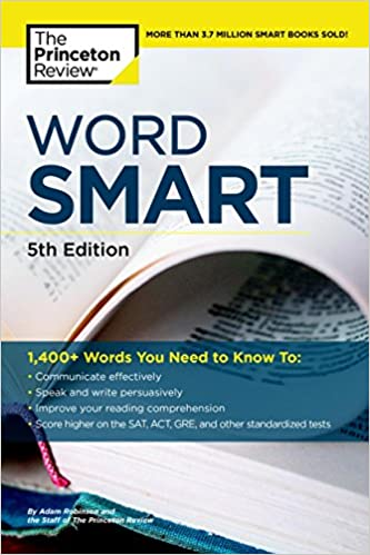 amazon word smart 5th edition smart guides princeton review gre