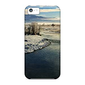 Iphone 5c Hard Back With Bumper Cases Covers East Gallatin River