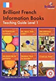 img - for Brilliant French Information Books Pack: Level 1: A Graded French Non-Fiction Reading Scheme for Primary Schools (French Edition) book / textbook / text book