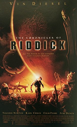 The Chronicles of Riddick 2004 S/S Movie Poster 11x17
