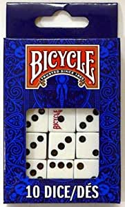 10 Pack Bicycle Dice