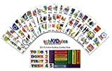 SchKIDules 151 Pc Complete Collection Combo Pack for Visual Schedules, Kids Calendars and Behavior Charts: 132 Home, School and Special Needs Themed Activity Magnets Plus 19 Headings Magnets (2nd Ed)