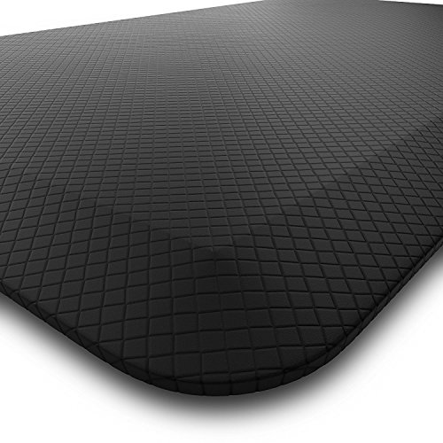 Homey Brands Anti Fatigue Kitchen Sink Mat | Large 20 x 39 Non Slip Standing Mat | Perfect for Home, Office, Garage, Hair Salon and More, Non-Toxic, Waterproof by Homey Brands