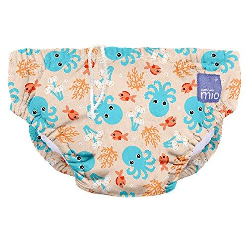 Amazon Com Bambino Mio Reusable Swim Diaper Small 0 6 Months Blue Squid Industrial Scientific