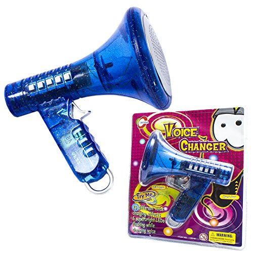 Fun Central (AU024) Multi Voice Changer - Change your voice with 8 different voice modifiers, Random Color, For Boys And Girls Of All Age, Parties, Christmas, Events - Blue]()