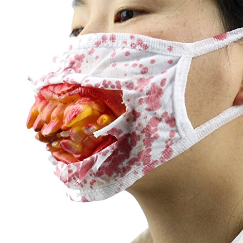 Halloween Masks Cosplay Costume for Adults Party Favors House Decoration Prop Men Women (Simple Masks)