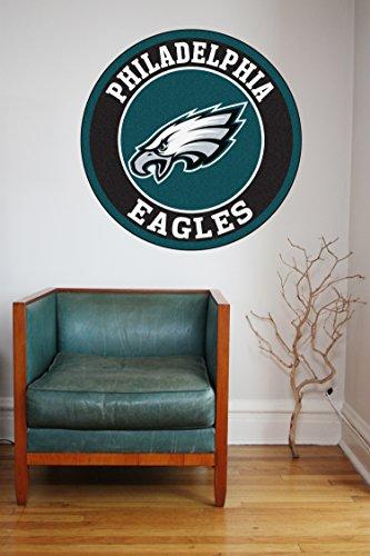 NFL logo decal, Eagles NFL decal, Eagles stickers, Philadelphia Eagles large decal, Eagles decal, Eagles sticker, Eagles wall decal, Philadelphia Eagles logo decal, Eagles decor pf72 (5