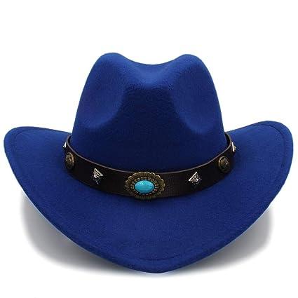 Yuying Cappello da Cowboy per Uomo e Donna 2018 New Western Outdoor  Cappuccio Tesa Larga Cappellino 27c61bc1389d