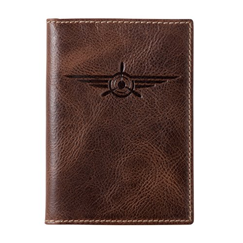 HOJ Co. Lindbergh Leather PASSPORT COVER-Full Grain Leather Travel Wallet-Passport Case-Passport Holder by House of Jack Co.