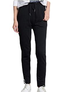 Unastar Mens Relaxed Slim Relaxed-Fit Vogue Drawstring Regular Sweatpant