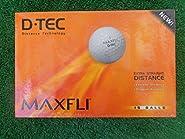 D Tec Maxfli Extra Straight Distance 15 Golfballs