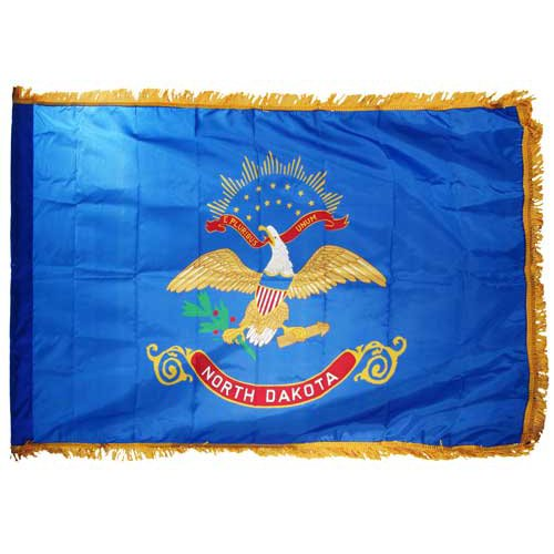 Online Stores North Dakota Flag Nylon Indoor, 3 by 5-Feet