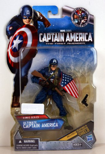 (Captain America Comic Exclusive 6 Inch Action Figure Ultimate Captain)