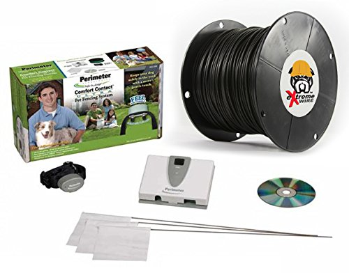 Perimeter Technologies Comfort Contact In-Ground Dog Fence – 500 Feet of Upgraded eXtreme Wire