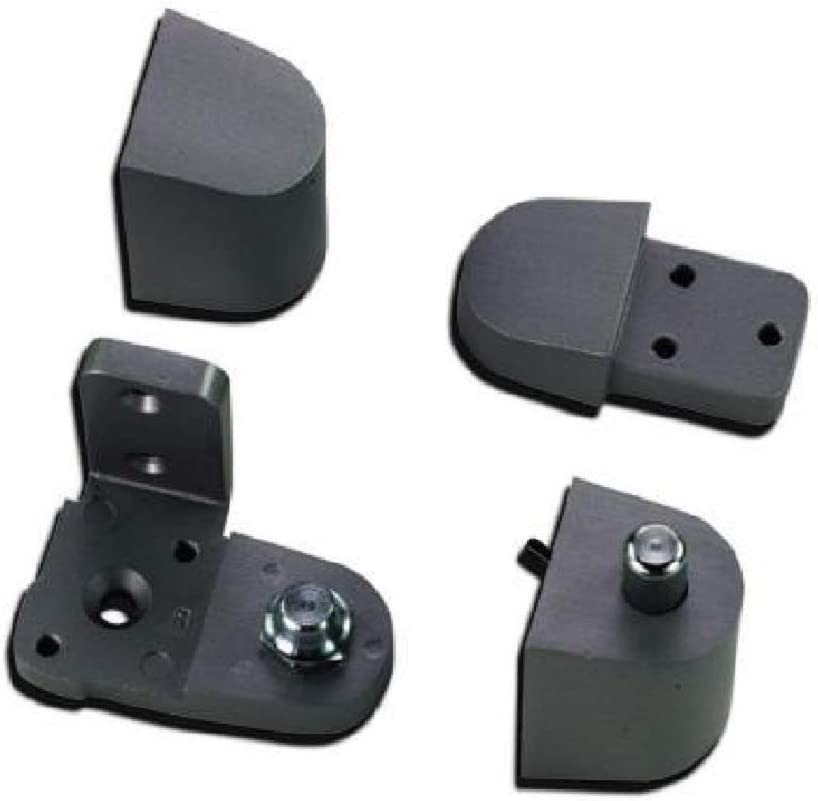 Choose Handing Right Hand Pittco//PPG Style Aluminum Storefront Door Pivot Hinge Set in Duronotic