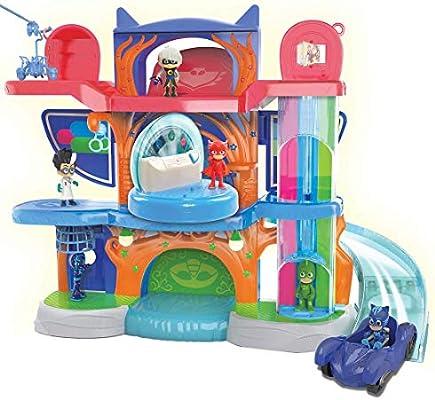 PJ Masks Headquarters Car Launcher Track Toy Playset PJ Mask