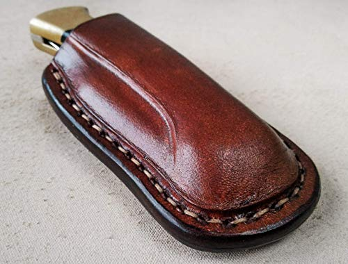 - Custom leather sheath for Buck 112 Ranger, folding knife case, pocket knife leather case, holster for Buck knives