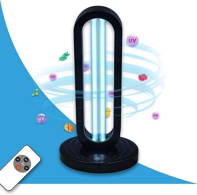 UVILIZER Tower - UV Light Sanitizer & Ultraviolet Sterilizer Lamp w/ Remote Control