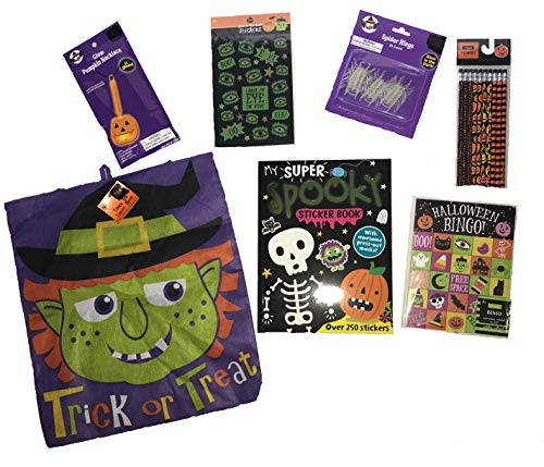 Halloween Activity Party Favor Pack for Kids: Over