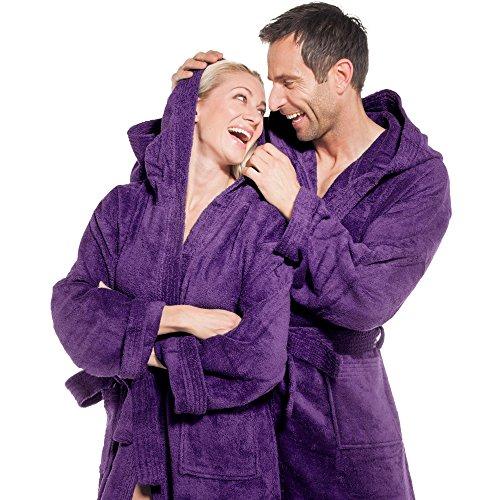 Lila textil Basic Accappatoio Aqua Donna wRaqpC